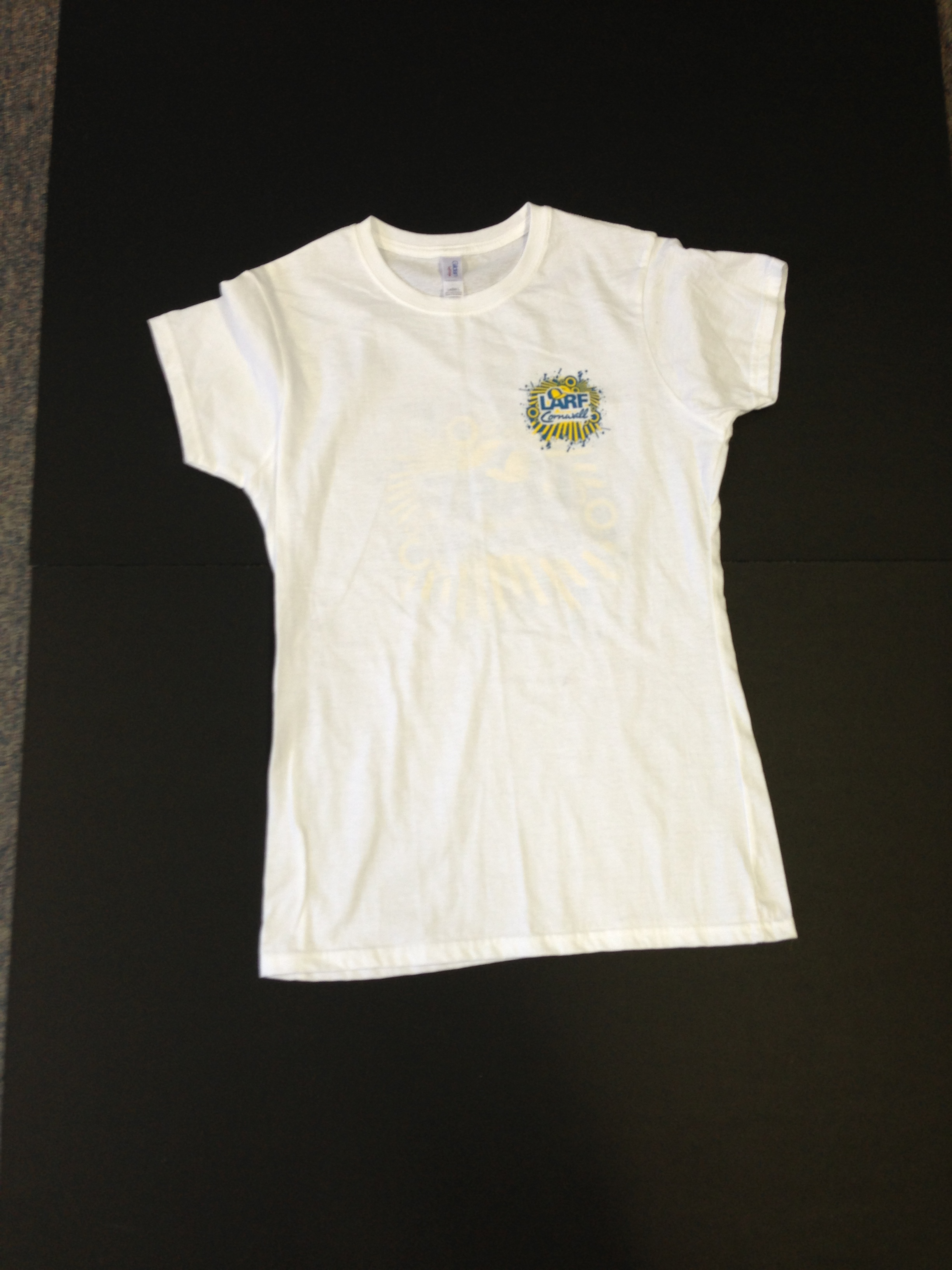 24050aecd51b9 Home   Ladies Fitted T-Shirt – White. IMG 2106